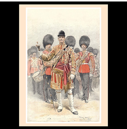 Grenadier Guards - set of six greeting cards
