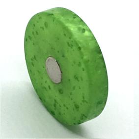 Scheiben Grasgrün