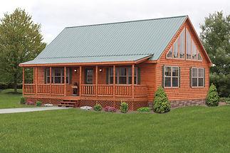 Custom Log Homes in PA