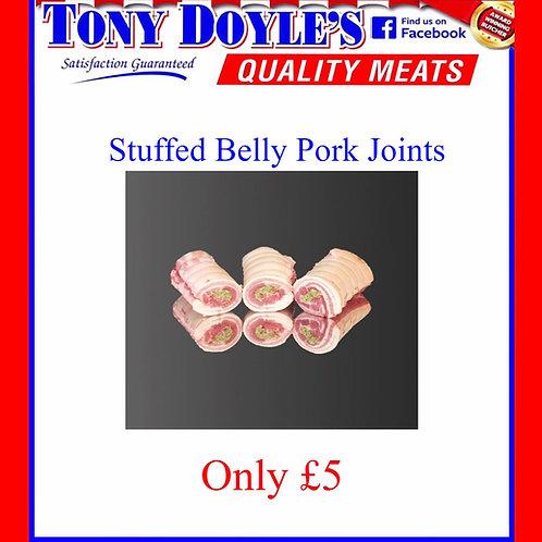 Stuffed Belly Pork Joint