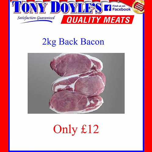 Large 2kg Back Bacon