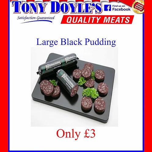 Large Black Pudding