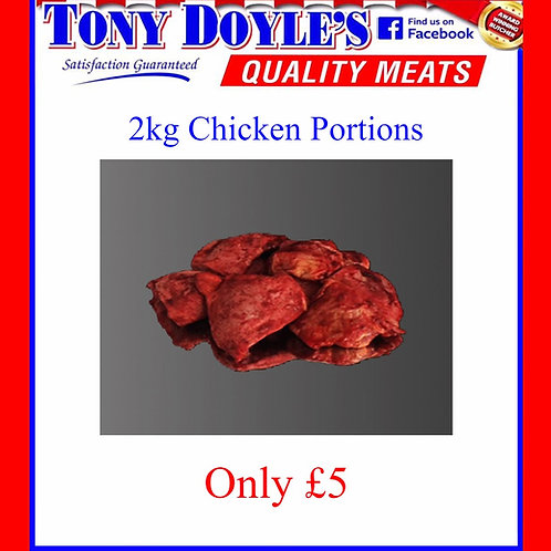 Chicken Portions + Flavours