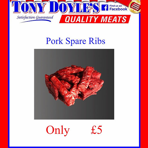 Pork Ribs + Flavouring