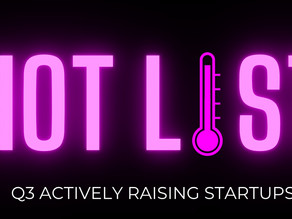 Announcing the 20 startups on our Q3 Hot List