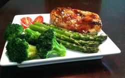 Barbecue Glazed Chicken Breast