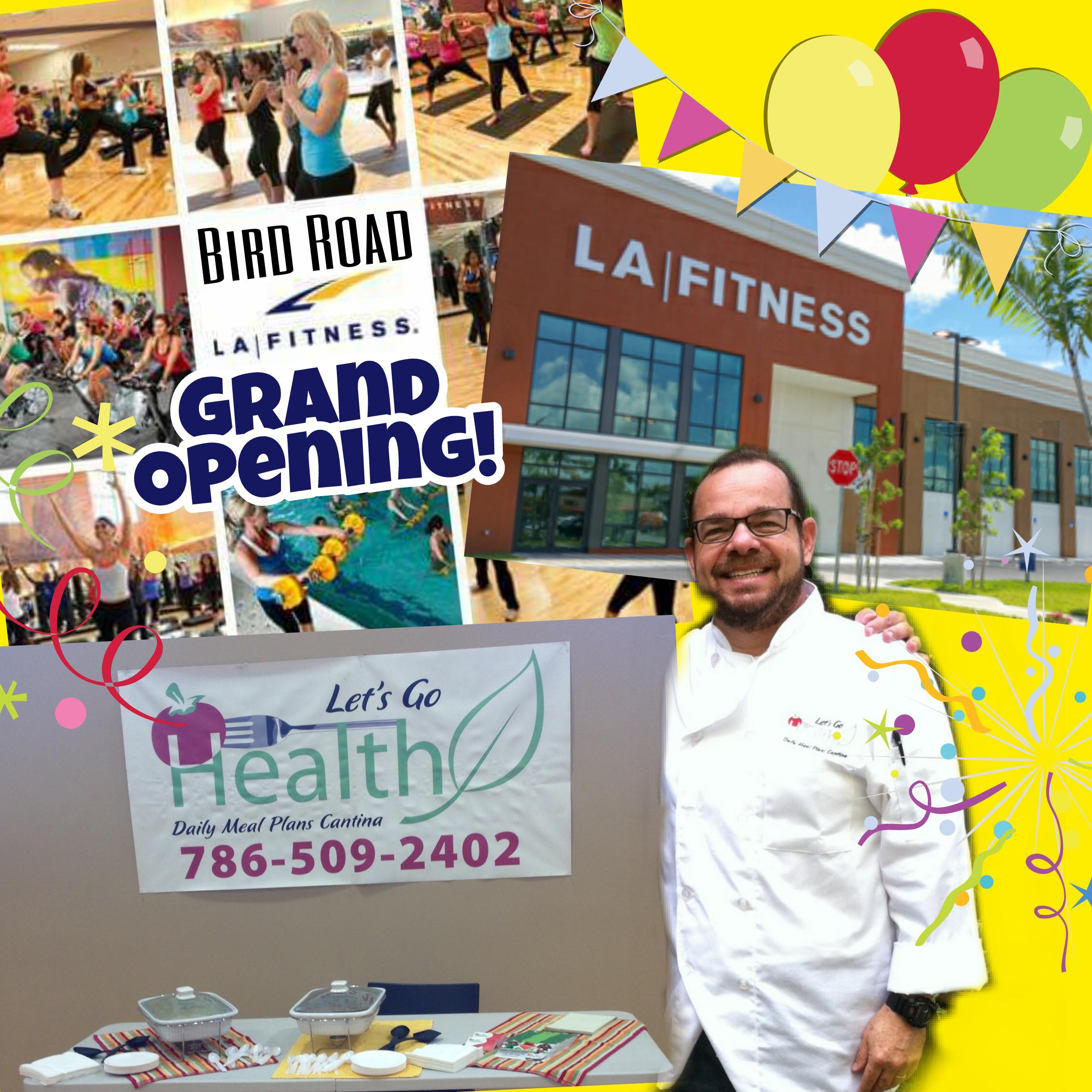 LA Fitness Grand Opening