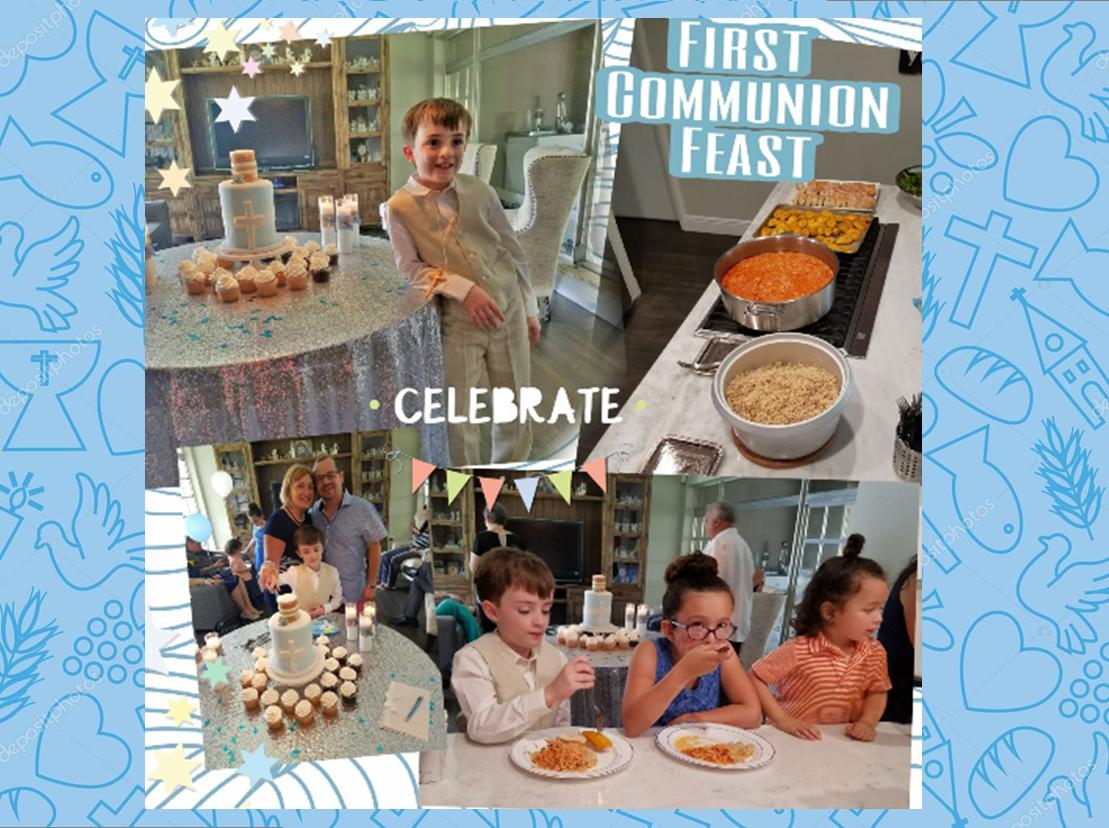 First Communion Feast3