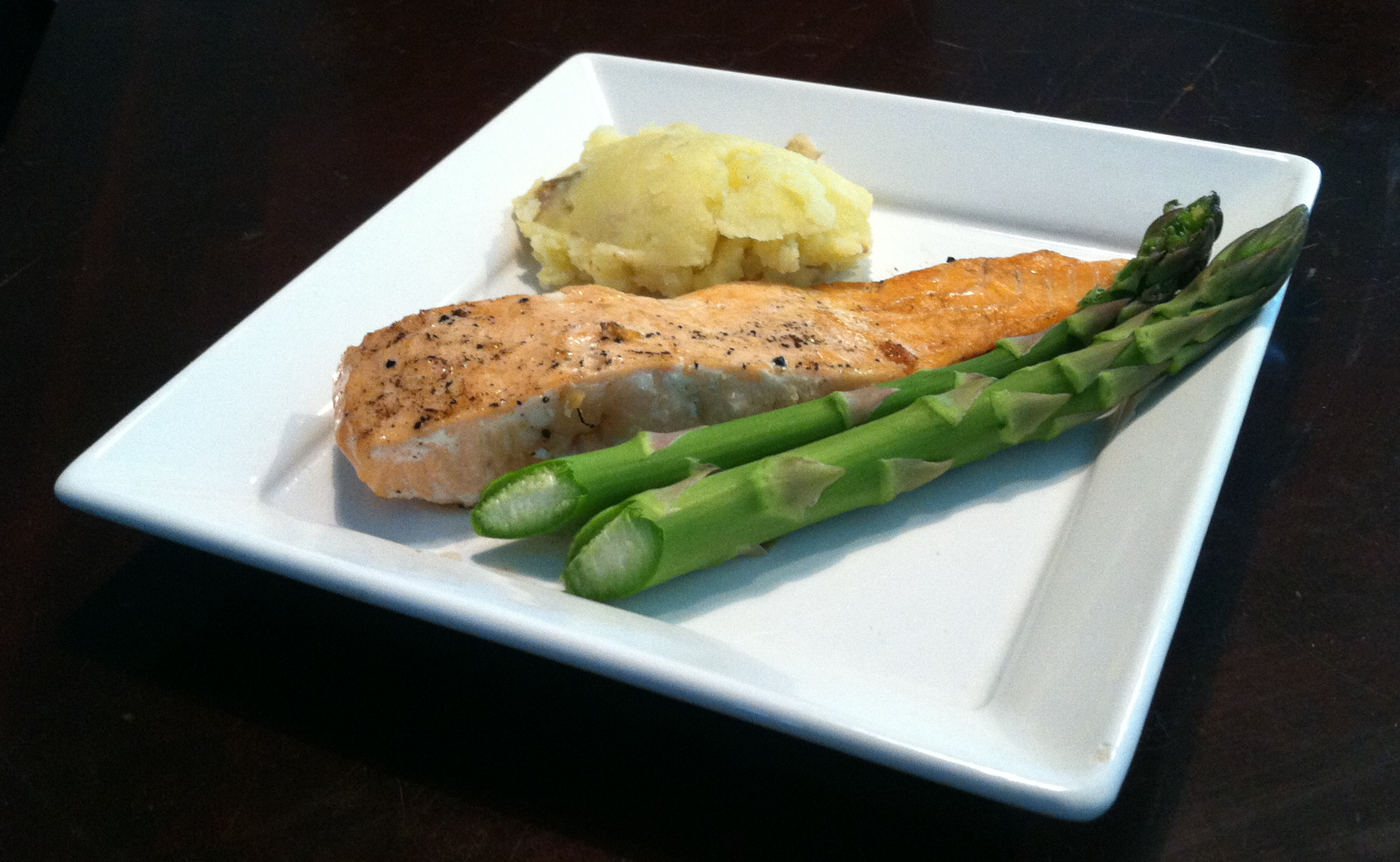 Roasted Garlic Wild Atlantic Salmon