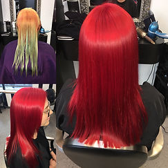 Alluring Designs A Salon Color Correction by Ashley