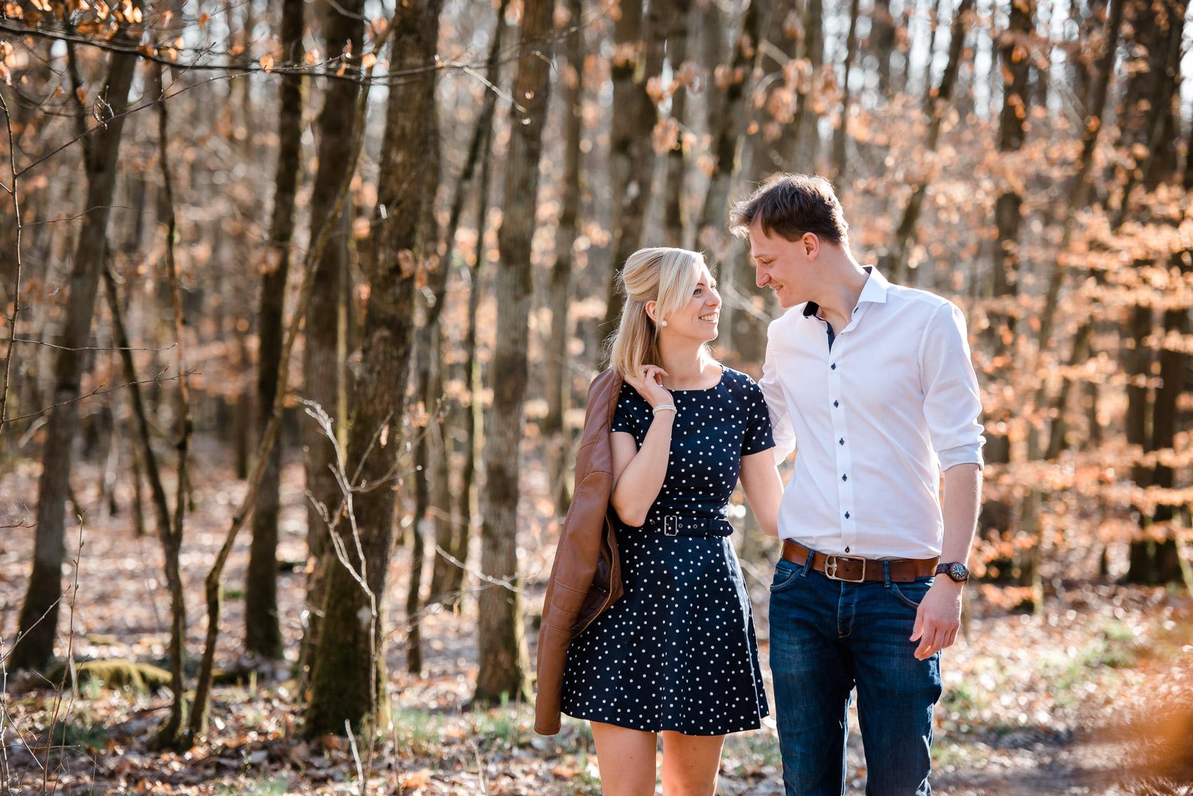 Paar im Wald-4