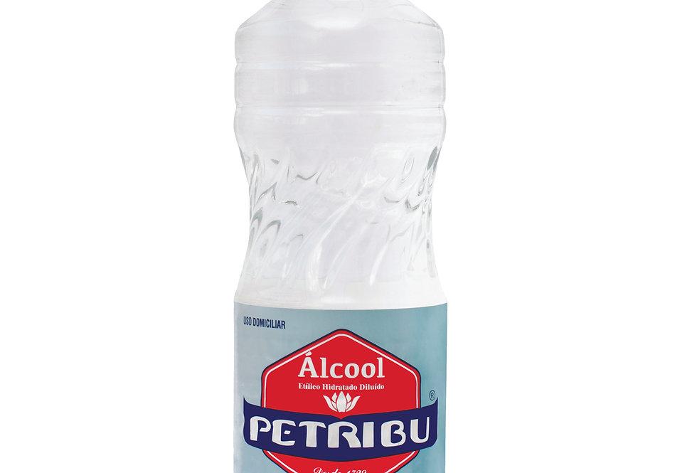 Álcool 46° INPM PETRIBU 1 Litro Caixa com 12