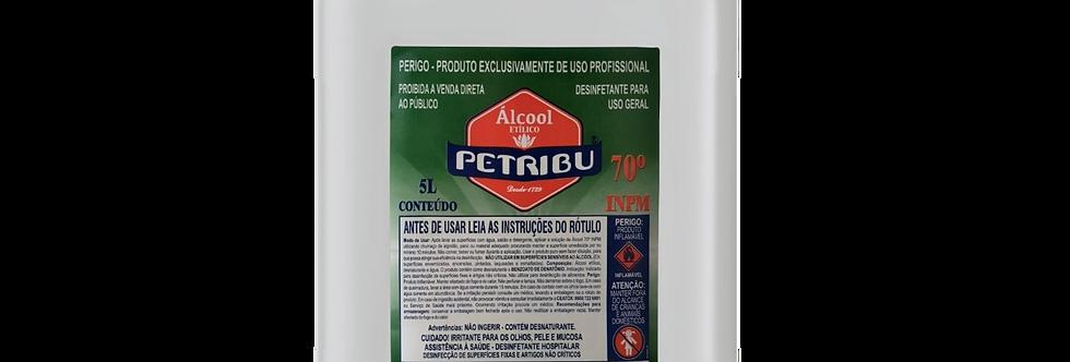 Álcool 70° Bombona 5 Liltros Petribu