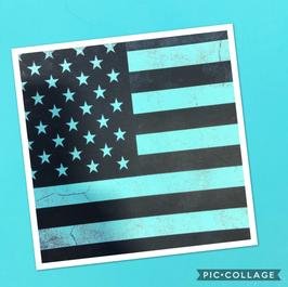 Tiffany Flag on Tiffany