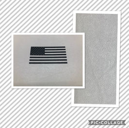 American Flag - Light Gray