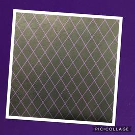 Purple Diamonds on Purple