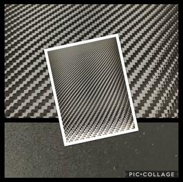 Carbon Fiber Black on Black