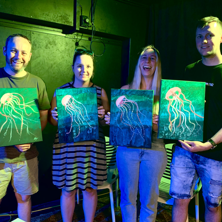 PAINTED LAUNCH NIGHT