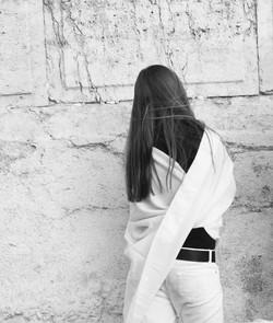 Girl+at+Wall