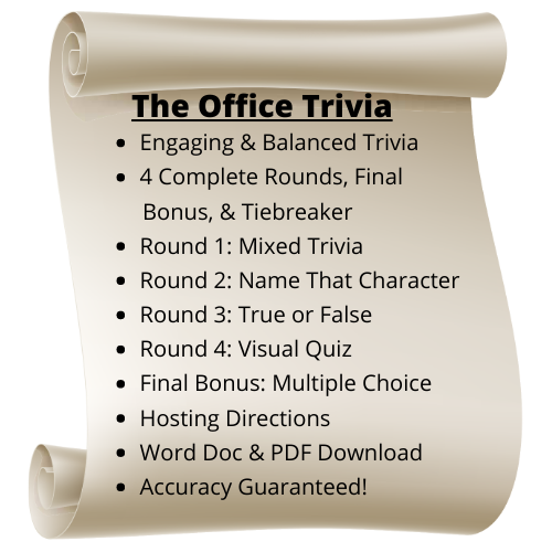 The Office Themed Trivia