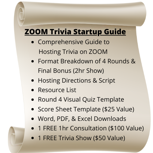 Zoom Trivia Startup Guide