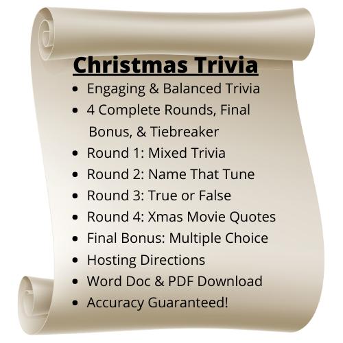 Christmas Themed Trivia