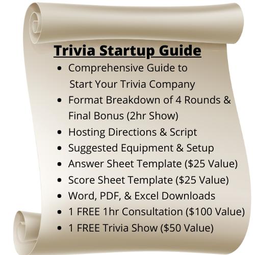 Trivia Startup Guide