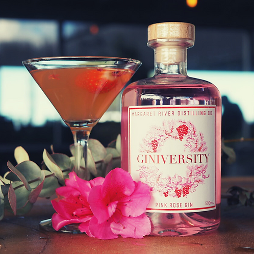Giniversity Pink Rose Gin (Limited Edition)