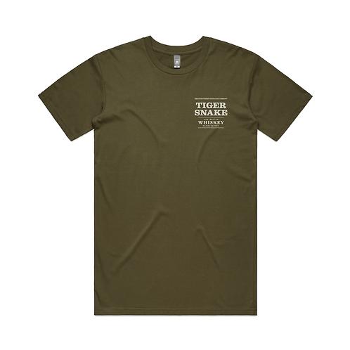 Tiger Snake Tee (Olive Green)