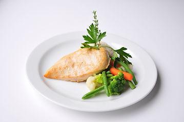 Kurací_steak_s_blanžírovanou_zeleninou_a