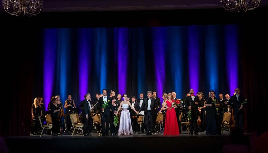 otvárací koncert - symfonický orchester