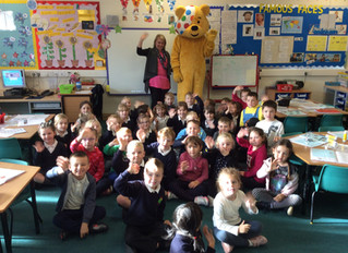 A Visit from Pudsey Bear