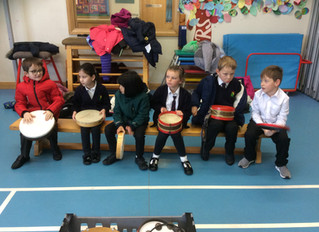 Y3 Make Music - Volcano Eruptions!