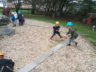 Beech Class Visit Weymouth Outdoor Activities Centre