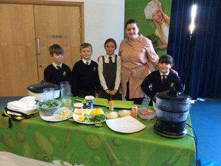 Conifers Whole School Roots to Food Day