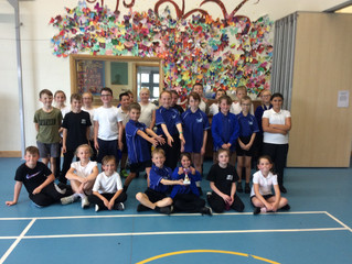 Conifers Compete in the first Tri-Cup Sports