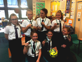 Dorset Girls Football Championship Success