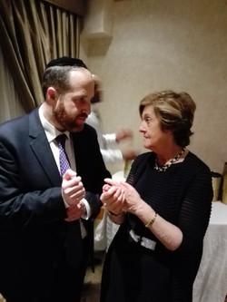 Rabbi and Stephanie Trump