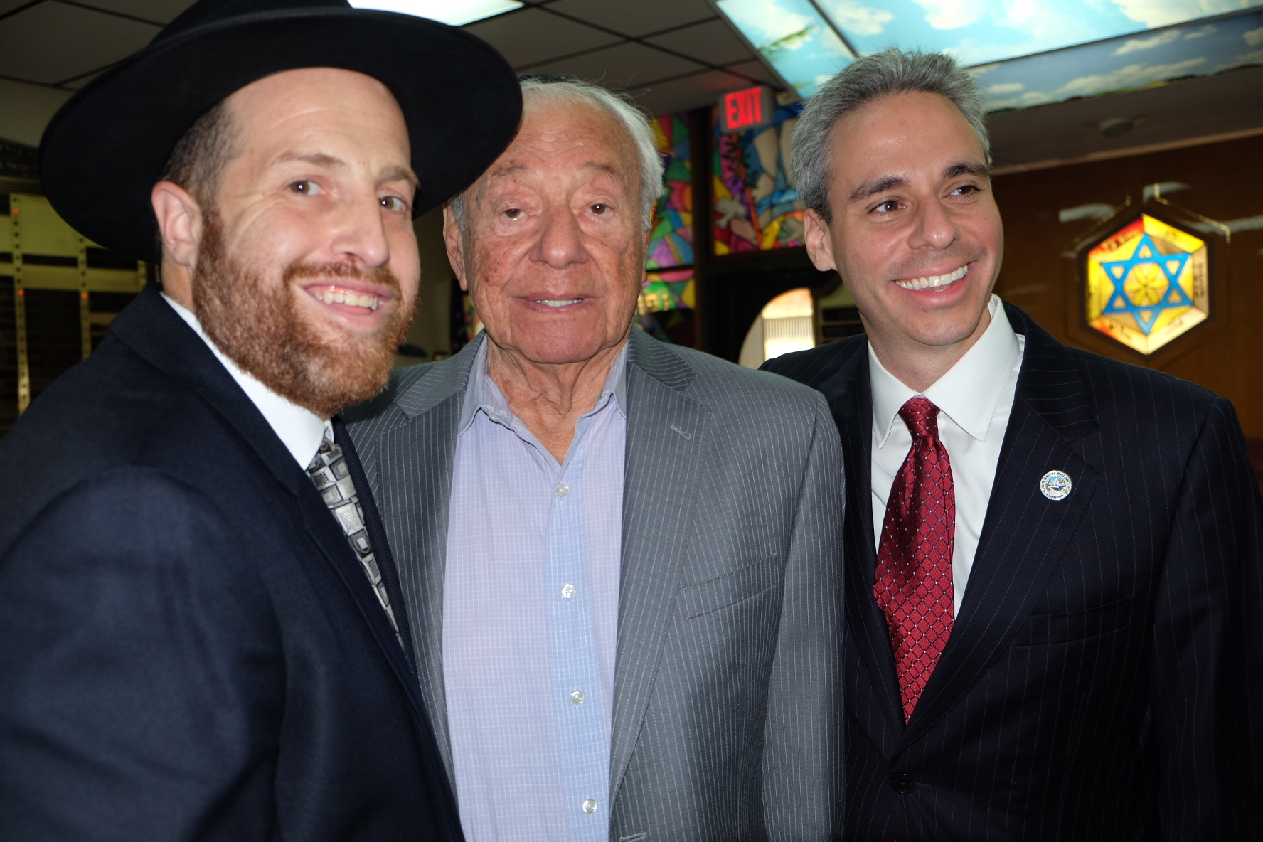 Rabbi Haber smile