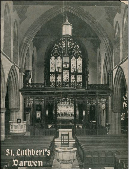 Interior St Cuthbert's