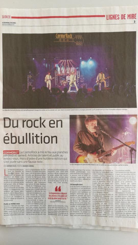 16.04.2018 - Le Journal du Jura