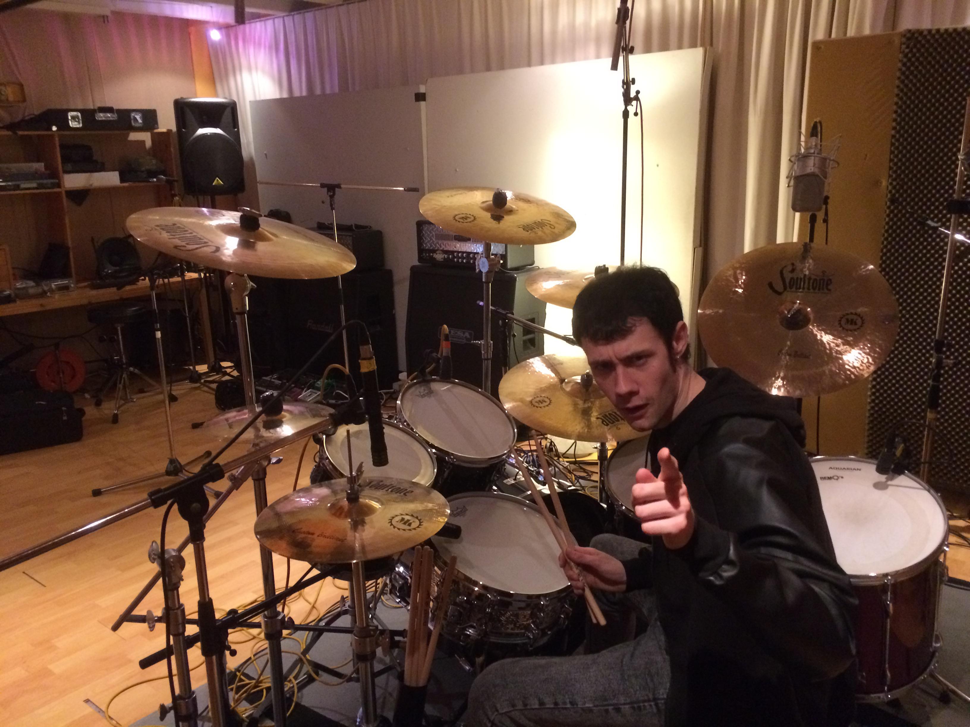 Recording ''Hellimination'' 2016