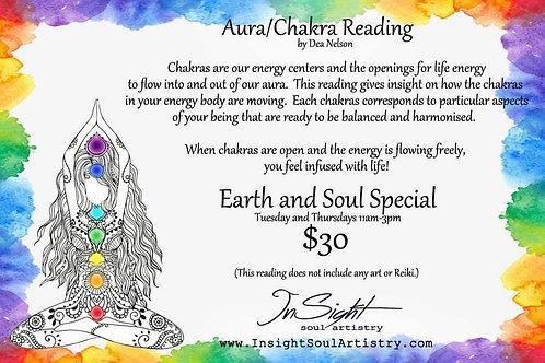 Aura/Chakra Reading