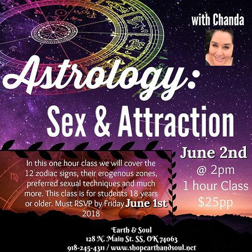 Astrology Class: Sex & Attraction