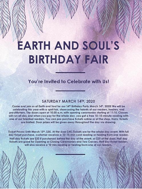 E&S Birthday Fair