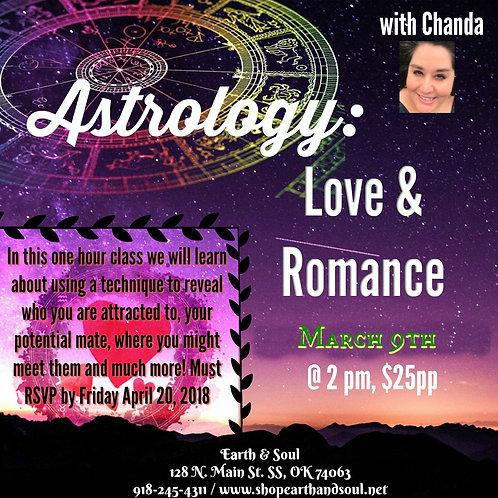 Astrology Class: Love & Romance
