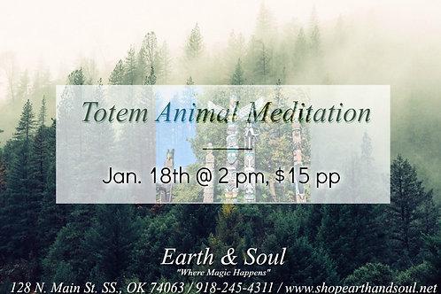 Totem Animal Meditation