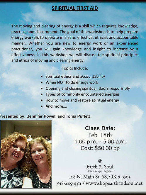 Spiritual First Aid Workshop
