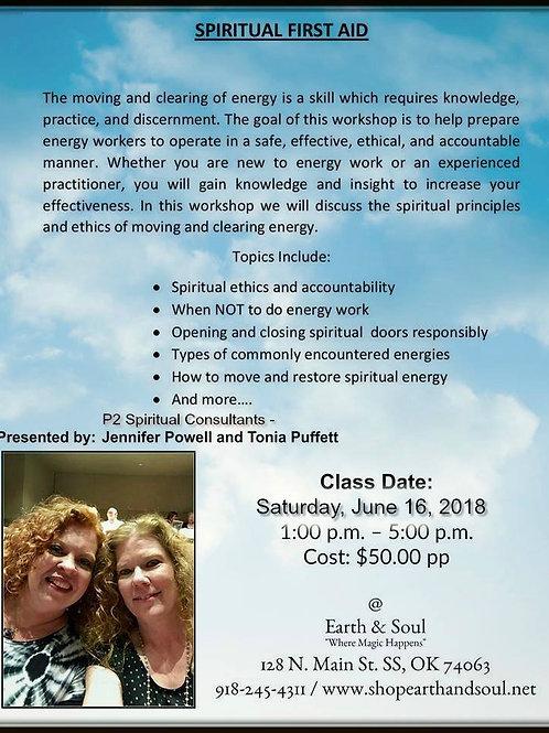 Spiritual First Aid Workshop