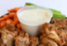 deli chicken wings prepared foods catering lunch dinner